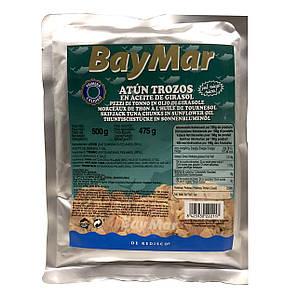 Тунець в олії BayMar ATUN TROZOS BOLSA 500 г (пакет) 10 шт/ящ. 222114