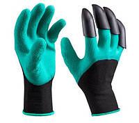 Перчатки для сада и огорода с когтями Garden Genie Gloves 0030, КОД: 1660046