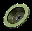 Круг алмазный заточной 12А2-45 150х20х3х40х32 160/125  АС4  БАЗИС шлифовальный чашечный, фото 2