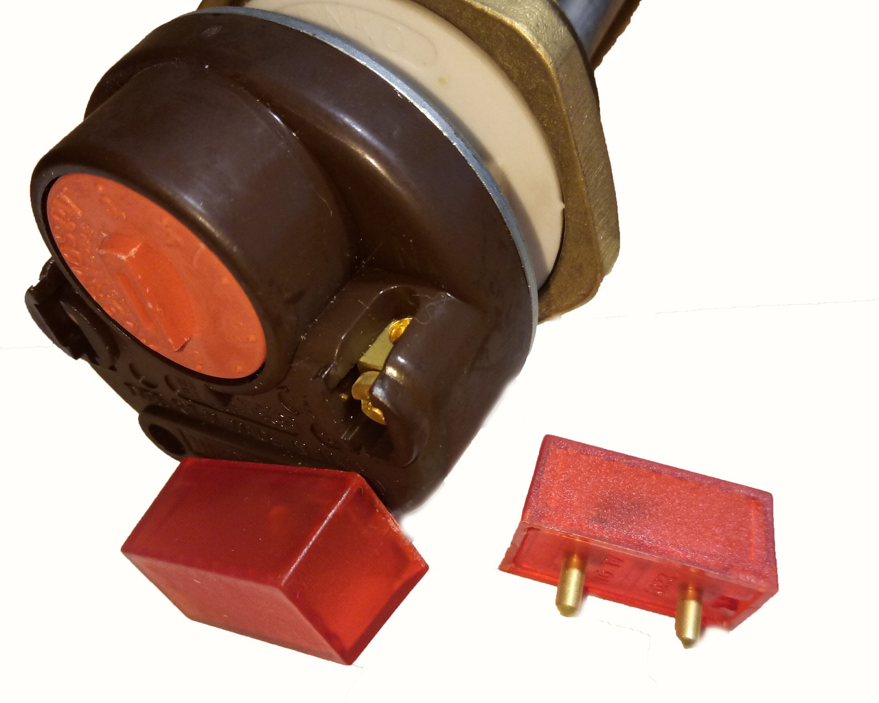 Светодиод для штырьевого терморегулятора (бойлера или батарейного тэна)