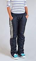 "Утепленные штаны K&ML ""Дутики"" (унисекс), фото 1"