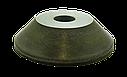 Круг алмазный заточной 12А2-45 150х10х3х40х32 100/80  АС4  БАЗИС шлифовальный чашечный, фото 3