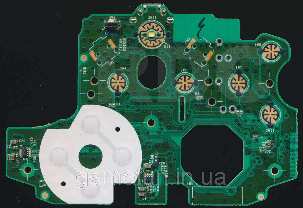 Контактна кнопка-хрестовина Xbox One S, Xbox One X D-Pad для геймпада (Rev-3)
