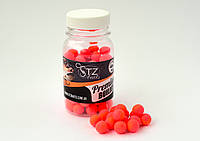 "Бойл плавающий Поп ап ""strawberry bergamot"" ( Клубника-бергамот)  10мм STZbaits"