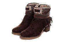 Жіночі черевики Kylie Kantri Marron 36 Brown bggd4m, КОД: 1635909