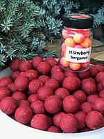"Бойлы пылящие ""strawberry bergamot"" 24мм 1кг STZbaits"