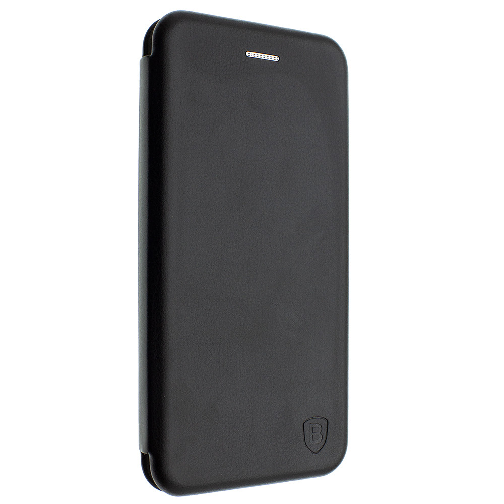 Чехол-книжка для Huawei Mate 20 Lite цвет черный, кожаный