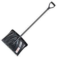 Лопата для уборки снега 460*340мм с ручкой 1300 мм INTERTOOL