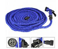 Шланг Magic Hose 30m 100FT steel, садовый шланг Magic, шланг для полива x hose 30м, поливочный шланг икс хоз, фото 1