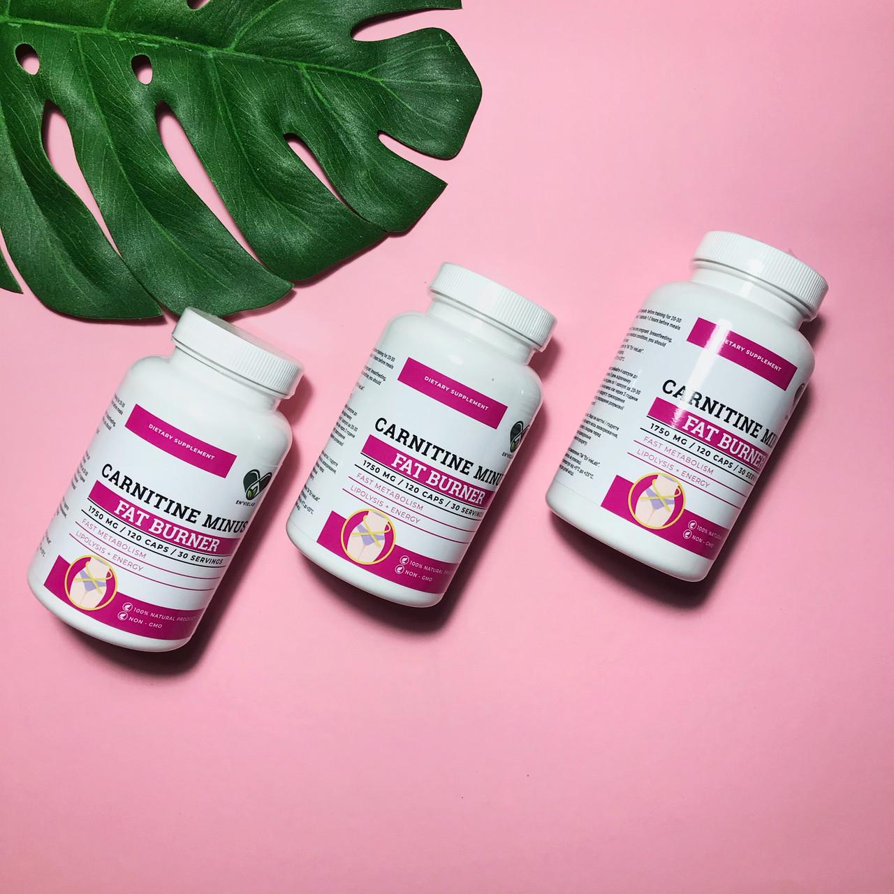 L-Карнитин для похудения 1500 mg. Carnitine MINUS от ENVIE LAB