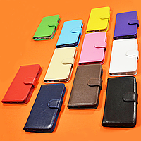 Чехол-книжка из натуральной кожи для Xiaomi Redmi Note 9 Pro