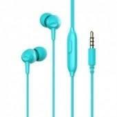 Навушники вакуумні Havit HV-E48P blue+мікрофон