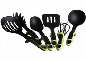Набор кухонных принадлежностей KITCHEN TOOLS зеленый