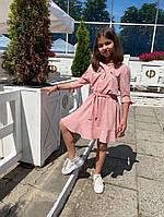 Сарафан на девочку под пояс 134-152 см, фото 1