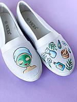 Медицинская обувь с дизайнерским принтом ручной работы, фото 1