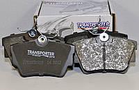 Дисковые тормозные колодки (задние) на Renault Trafic  2001->  — Transporterparts  (Франция) - 04.0153