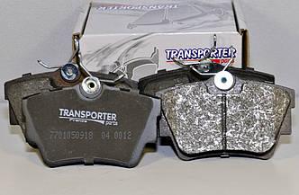 Дисковые тормозные колодки (задние) на Renault Trafic III 2014->  — Transporterparts  (Франция) - 04.0153