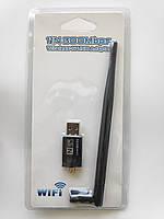 USB WIFI адаптер с антенной 5dbi Ralink MTK 7601 для T2 и пк