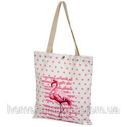 Пляжная сумка, Эко-сумка Фламинго