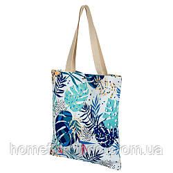 Пляжная сумка, Эко-сумка с тропическим принтом