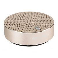 Портативная колонка AWEI Bluetooth Y800 3 Вт Золотистая 38-SAN484, КОД: 977205