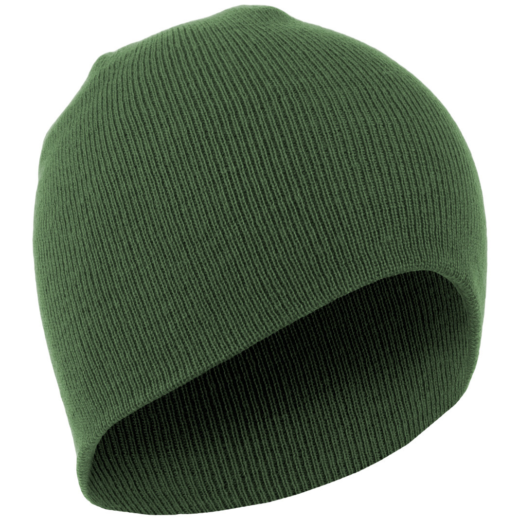 1eb16f3a Зимняя акриловая шапка MilTec BEANIE Olive 12138001 - Інтернет-магазин
