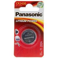 Батарейка PANASONIC CR 2430 * 1 LITHIUM (CR-2430EL/1B)