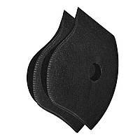 Набор сменных защитных фильтров для маски с 2 клапанами XoKo Черный 2шт