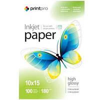 Бумага PrintPro 10x15 (PGE1801004R)