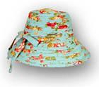 Шляпа тканевая голубая, фото 2