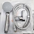 Однорычажный латунный смеситель для ванны цвет хром Q-Tap Tenso CRM 006AN, фото 4