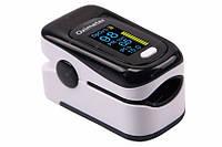 Пульсоксиметр - пульсометр на палец + ПОДАРОК. Оксиметр кислорода в крови