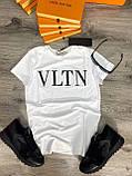 Футболка мужская Valentino D7155 белая, фото 3
