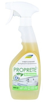 Средство для мытья сантехники и ванной с ароматом зеленого чая. Proprete bathroom.