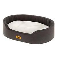 Лежак з штучним хутром Dandy F 65 Х/б для собак і кішок, 65x46x17 см
