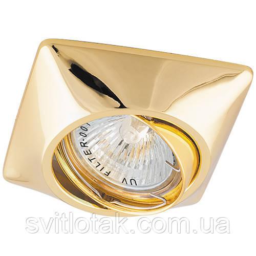 Встраиваемый светильник Feron DL6046 золото