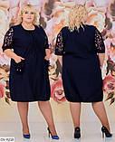 Стильное платье  (размеры 56-62) 0246-97, фото 3