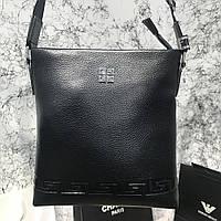 Messenger Givenchy Embossed Canvas Black