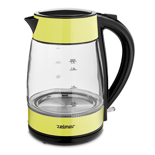 Электрический чайник Zelmer ZCK8011L со стеклянной колбой