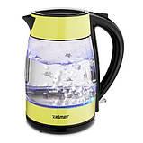 Электрический чайник Zelmer ZCK8011L со стеклянной колбой, фото 2