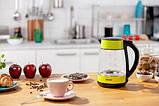 Электрический чайник Zelmer ZCK8011L со стеклянной колбой, фото 5