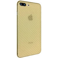 Чехол-накладка DK-Case пластик Carbon ultra slim для Apple iPhone 7   8 Plus Оранжевый 05867-746, КОД: 1694680