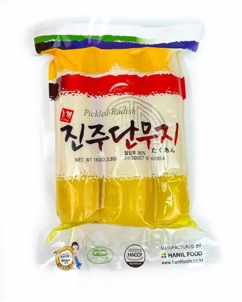 Корейская маринованная редька Танмуджи, Hanil 1 кг