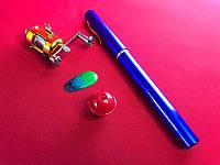 Портативная карманная телескопическая мини спиннинг удочка