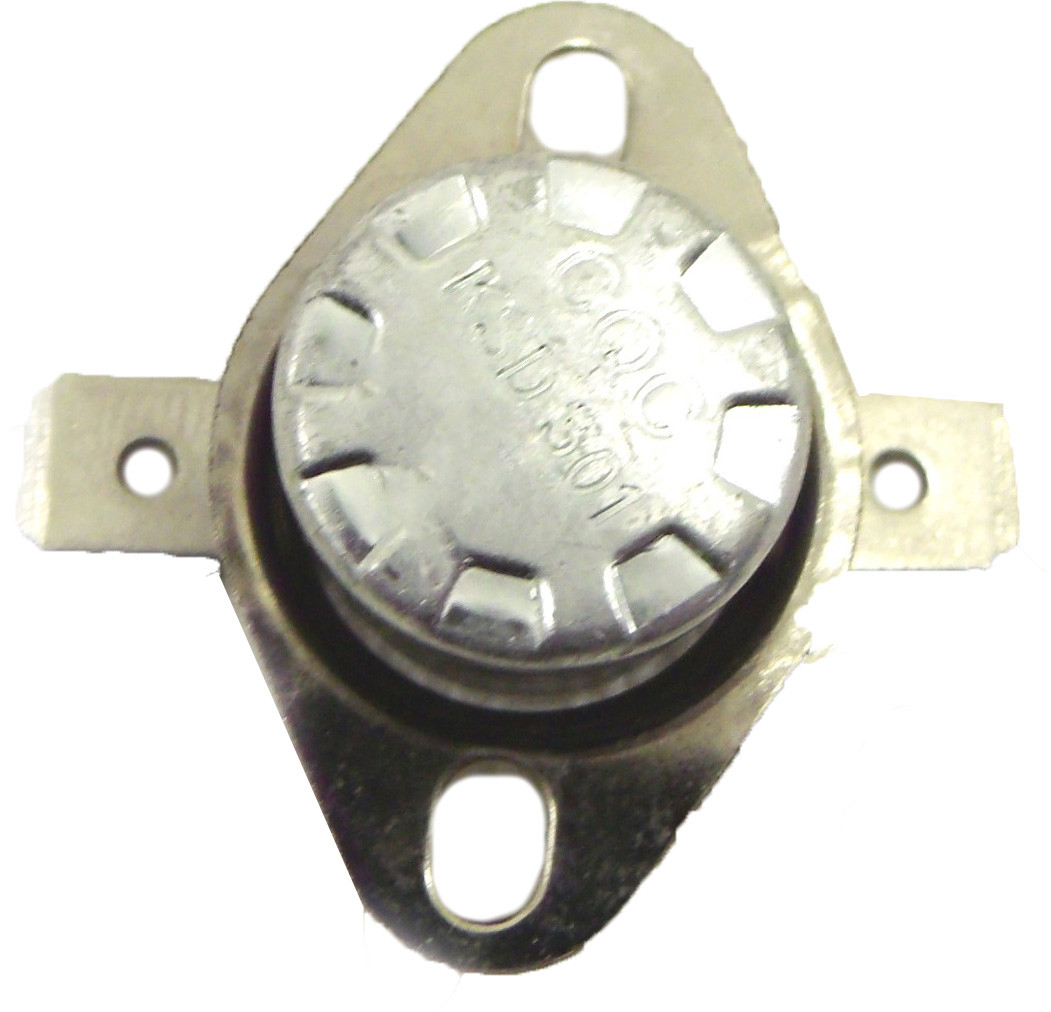 Термостат отсекатель аварийный защитный KSD 301 (КСД) на 110°С/10А самовостанавливающийся