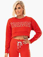 Спортивная кофта Кофта Courtside Cropped Sweater – Orange