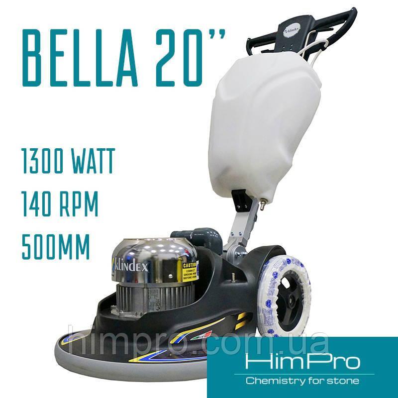Bella 20 Basic Klindex - одно дисковая полировальная машина (полотер)