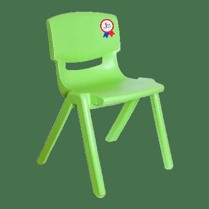 Стул детский Irak Plastik Jumbo №2 зеленый, фото 2