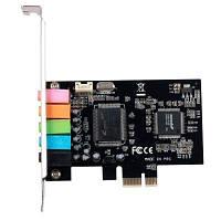 Звуковая плата Manli C-Media 8738 PCI-E 6(5.1) каналов bulk (M-CMI8738-PCI-E)