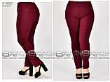 Стильные брюки  (размеры 60-66) 0247-18, фото 5
